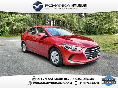2018_Hyundai_Elantra_SE **ONE OWNER**CERTIFIED**_ Salisbury MD