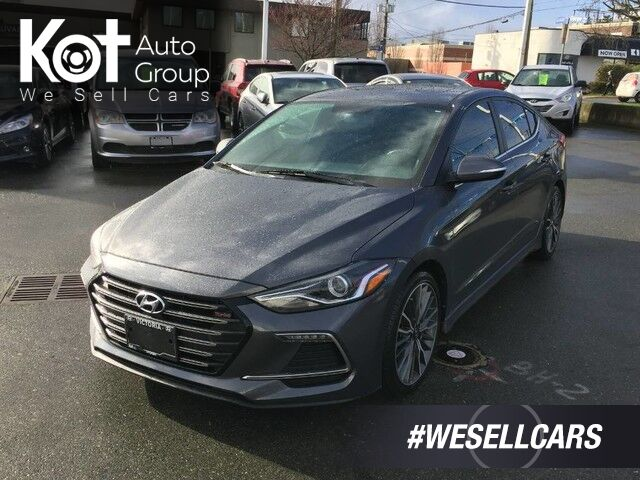 2018 Hyundai Elantra Sport Manual Transmission! Backup Camera, Sunroof! Victoria BC