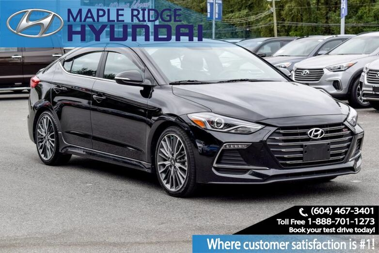 2018 Hyundai Elantra Sport Tech DCT Maple Ridge BC