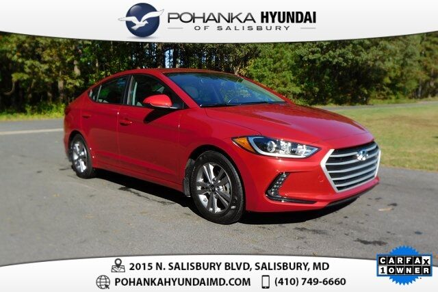 2018 Hyundai Elantra Value Edition **ONE OWNER**CERTIFIED** Salisbury MD