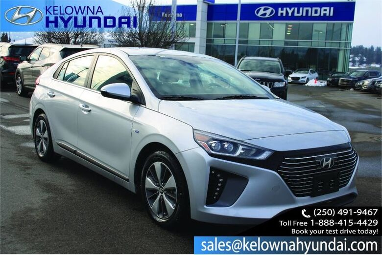 2018 Hyundai IONIQ Electric Plus Limited Kelowna BC