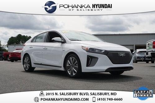 2018_Hyundai_Ioniq Hybrid_Limited **ONE OWNER**CERTIFIED**MOONROOF**_ Salisbury MD