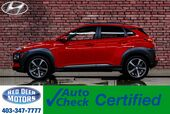 2018 Hyundai Kona AWD Ultimate Leather Roof Nav BCam