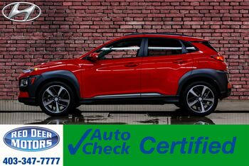 2018_Hyundai_Kona_AWD Ultimate Leather Roof Nav BCam_ Red Deer AB