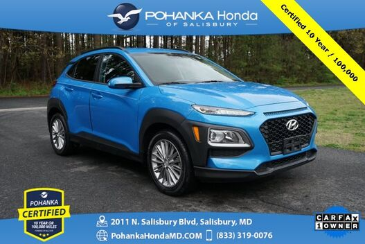 2018_Hyundai_Kona_SEL ** Pohanka Certified 10 Year / 100,000 **_ Salisbury MD