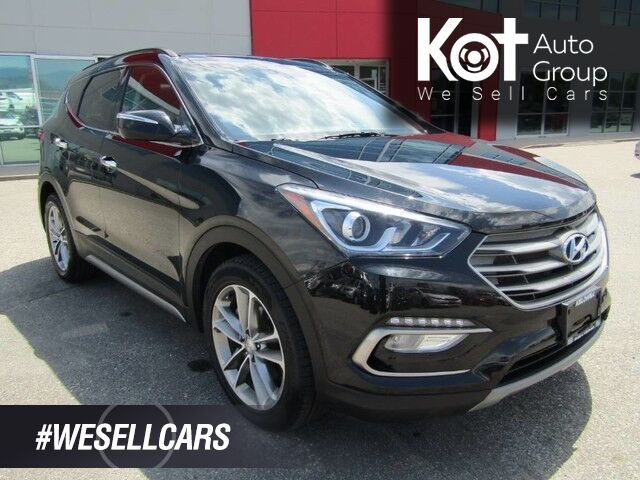 2018 Hyundai SANTA FE LIMITED TURBO! FULL LOAD! LEATHER! PANORAMIC SUNROOF! NAV! BLIND SPOT DETECTION! HEATED SEATS! COOLING SEATS! BACKUP CAM! Kelowna BC