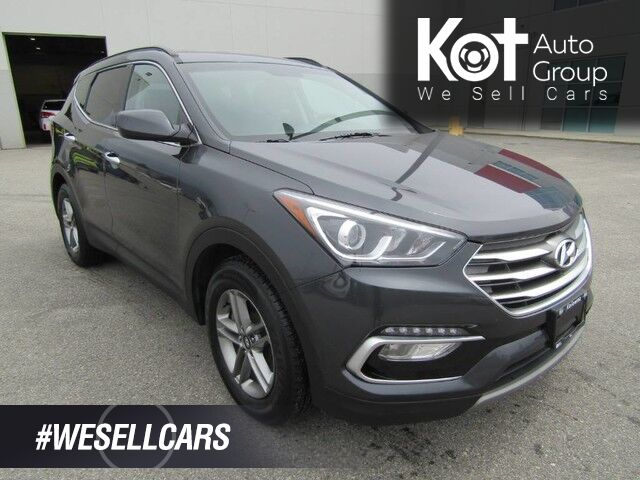 2018 Hyundai SANTA FE PREMIUM! NO ACCIDENTS! BACK UP CAM! BLUETOOTH! HEATED SEATS! TONS OF CARGO SPACE! Kelowna BC