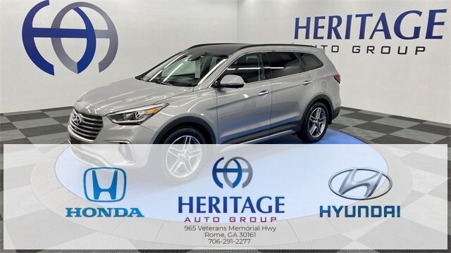 2018 Hyundai Santa Fe Limited Ultimate Rome GA