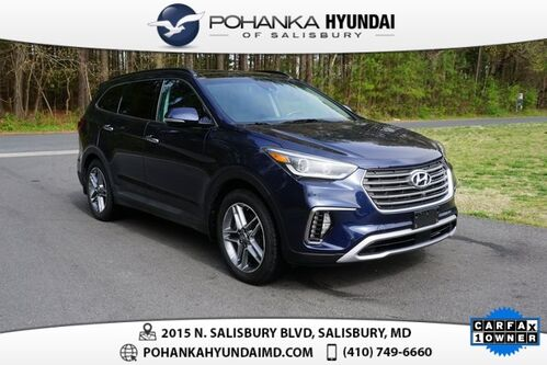 2018_Hyundai_Santa Fe_SE Ultimate **ONE OWNER**_ Salisbury MD