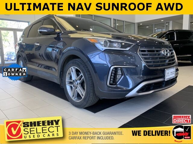 2018 Hyundai Santa Fe SE Ultimate Tech AWD Blind Spot Annapolis MD