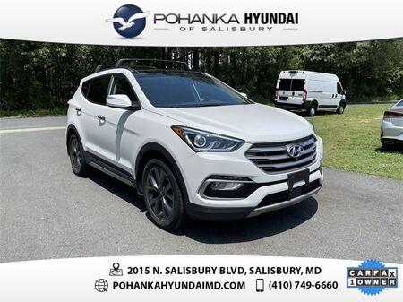 2018_Hyundai_Santa Fe Sport_2.0L Turbo Ultimate **ONE OWNER**CERTIFIED**_ Salisbury MD