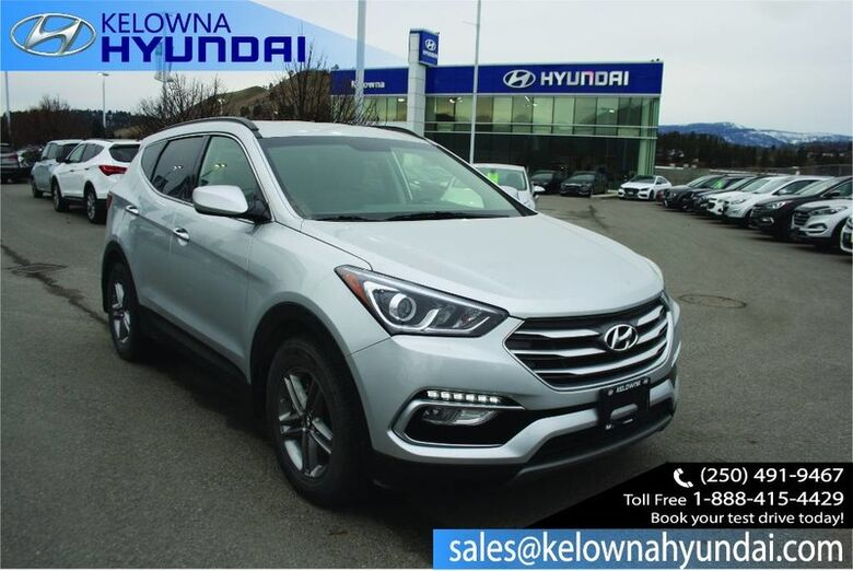 2018 Hyundai Santa Fe Sport 2.4L AWD Bluetooth Hands-free, 5.0 Touch-screen Display Penticton BC