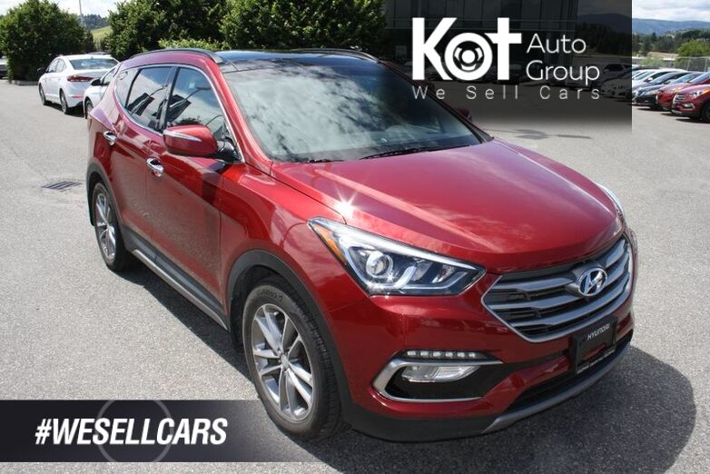 2018 Hyundai Santa Fe Sport Limited NAVIGATION! LEATHER! HEATED AND COOLED SEATS ! FULL LOAD! Kelowna BC