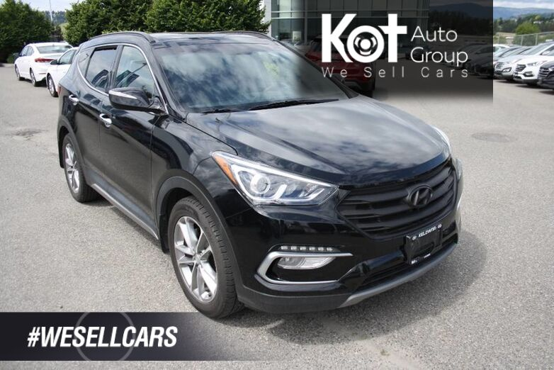 2018 Hyundai Santa Fe Sport Limited NAVIGATION! LEATHER! SUNROOF! BACKUP CAMERA! BLUETOOTH! FULL LOAD! Kelowna BC
