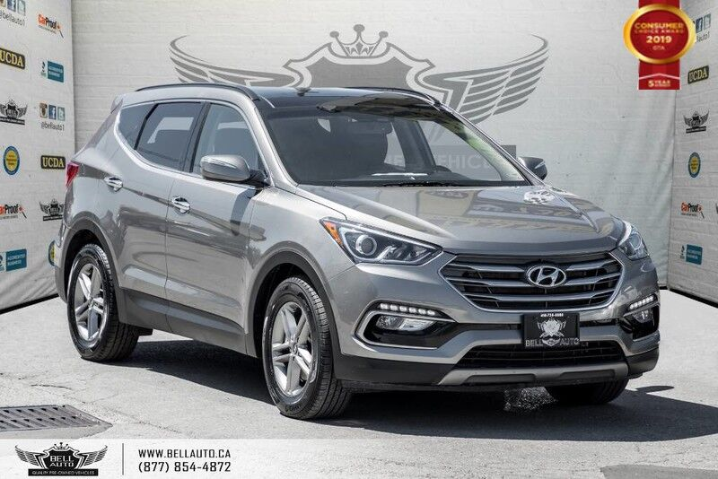 2018 Hyundai Santa Fe Sport Luxury, AWD, NO ACCIDENT, NAVI, BACK-UP CAM, PANO ROOF
