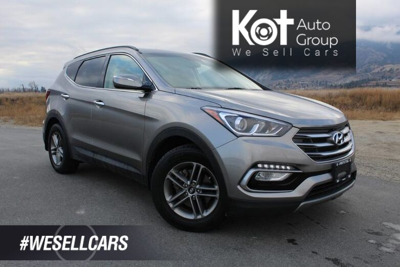 2018 Hyundai Santa Fe Sport Premium, Very Low Km's, Heated Front and Back Seats Penticton BC