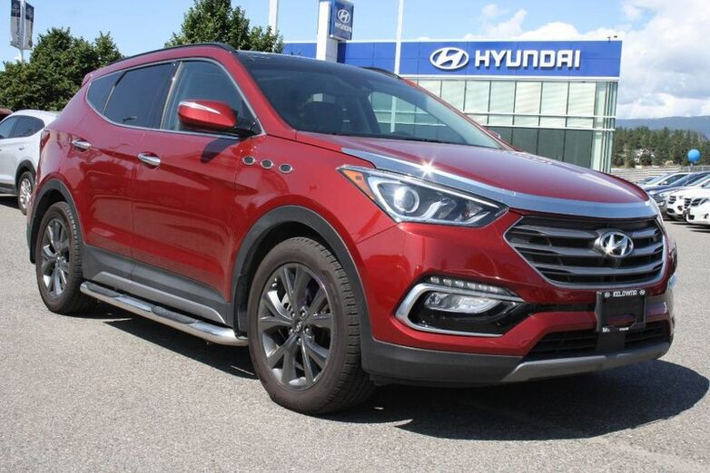 2018 Hyundai Santa Fe Sport Ultimate Heated seats,Navigation, Leather, Sunroof, Backup Cam Kelowna BC