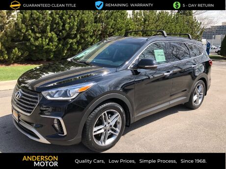 2018 Hyundai Santa Fe Ultimate AWD Salt Lake City UT