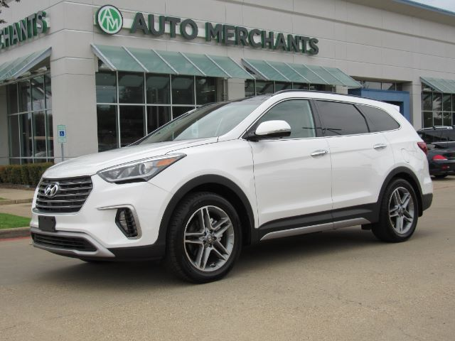 2018 Hyundai Santa Fe Ultimate NAV, BLIND SPOT, PANO, HTD/COOLED STS, PWR LIFTGATE, CAPT CHAIRS, PWR LIFT, 3RD ROW SEATS Plano TX