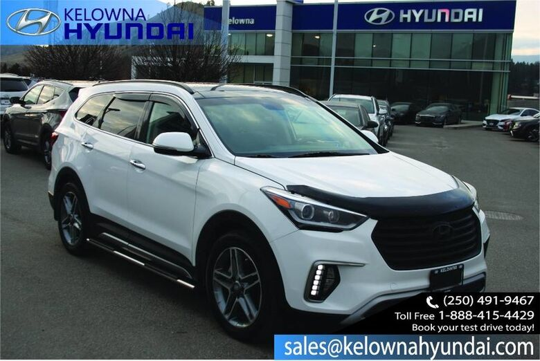2018 Hyundai Santa Fe XL Limited Lots of Extras!! All weather mats/ Navigation/Leather/ All weather Mats ETC Kelowna BC