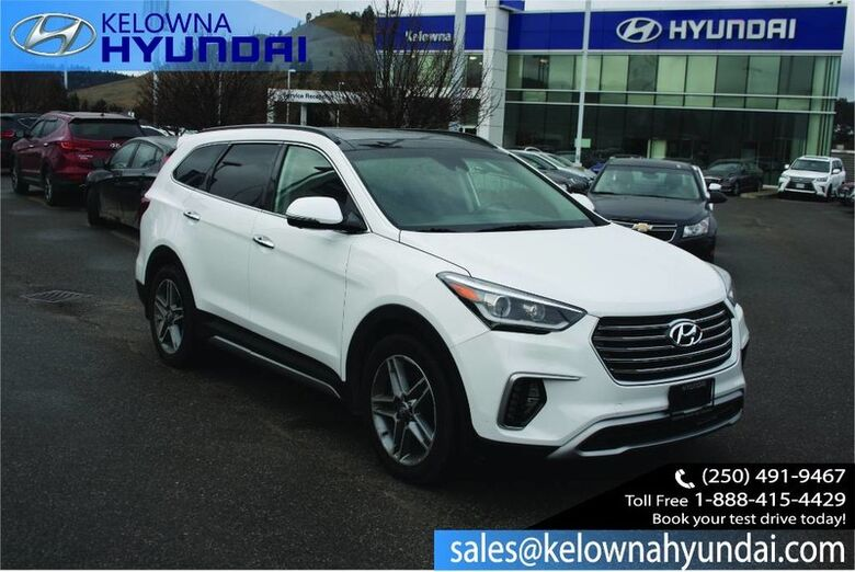 2018 Hyundai Santa Fe XL Ultimate Fully loaded !! Kelowna BC