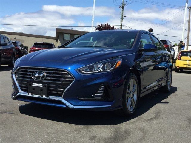 2018 Hyundai Sonata GLS Manager Demo! Leather Interior, Backup Camera, Push-Button Start Victoria BC