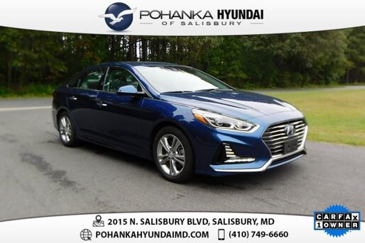 2018_Hyundai_Sonata_Limited **ONE OWNER**CLEAN TRADE**_ Salisbury MD