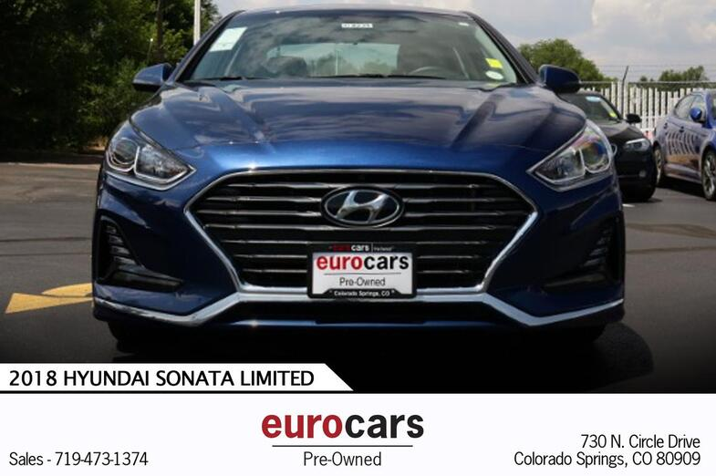 2018 Hyundai Sonata SEL Colorado Springs CO