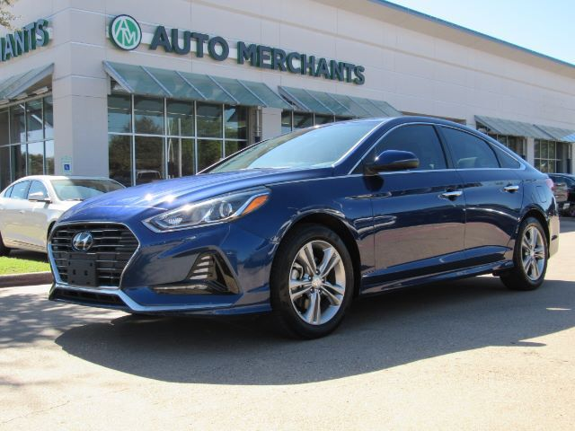 2018 Hyundai Sonata Sport BACK UP CAMERA,BLIND SPOT MONITOR,BLUETOOTH CONNECTION,TELEMATICS,KEYLESS START,HANDS FREE Plano TX