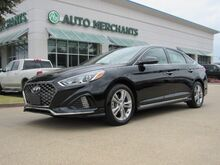 2018_Hyundai_Sonata_SportCLOTH/LEATHER, SUNROOF, ADAPTIVE CRUISE, BACKUP CAM, BLIND SPOT, BLUETOOTH, UNDER FACTORY WARR_ Plano TX