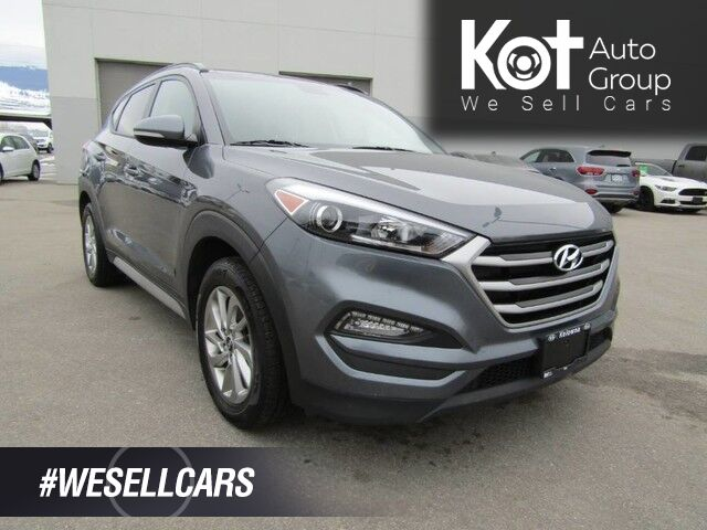 2018 Hyundai TUCSON SPORT EDITION! LEATHER! PANORAMIC SUNROOF! BLIND SPOT! BLUETOOTH! BACKUP CAM! 4,000 IN SAVINGS! Kelowna BC