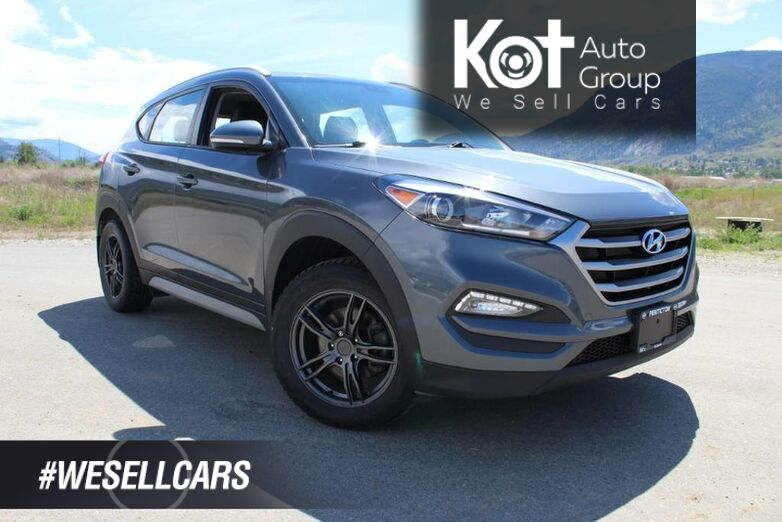 2018 Hyundai Tucson Premium AWD, ONE OWNER, WINTER TIRES ON RIMS, CARFAX CLEAN, GREAT PRICE !! Kelowna BC