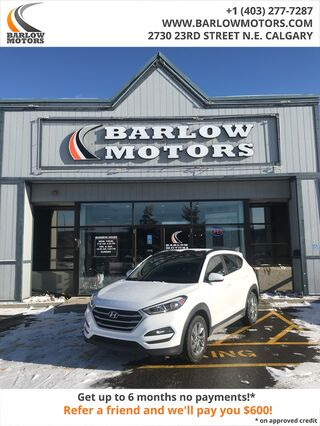2018_Hyundai_Tucson_SE Leather Sunroof AWD Back Up Camera_ Calgary AB