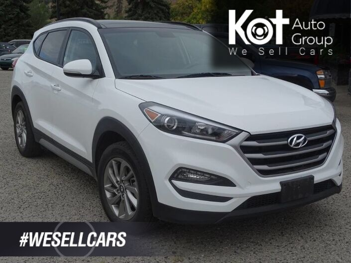 2018 Hyundai Tucson SE, Panoramic Roof, Leather Heated Seats, Bluetooth, Back-Up Cam Kelowna BC