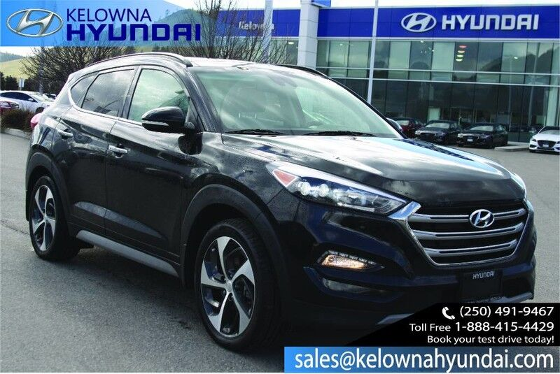 2018 Hyundai Tucson Ultimate With Two sets of tires & rims,Navigation, Leather, sunr Kelowna BC