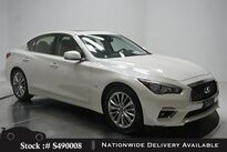 INFINITI Q50 2.0t LUXE NAV,CAM,SUNROOF,HTD STS,18IN WHLS 2018