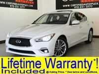 INFINITI Q50 3.0T LUXE AWD V6 SUNROOF LEATHER SEATS REAR CAMERA BLUETOOTH DUAL ZONE A/C 2018