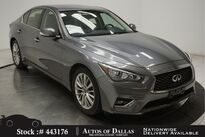 INFINITI Q50 3.0t LUXE CAM,SUNROOF,KEY-GO,17IN WHLS 2018