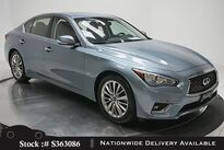 INFINITI Q50 3.0t LUXE CAM,SUNROOF,KEY-GO,18IN WLS 2018
