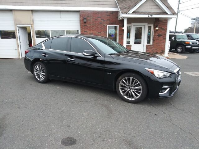 2018 INFINITI Q50 3.0t LUXE East Windsor CT
