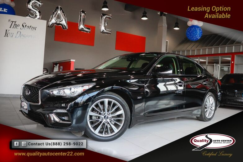 2018 INFINITI Q50 3.0t LUXE Essential and All Weather Pkg. Springfield NJ