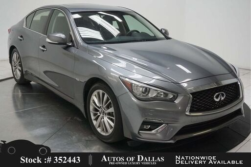 2018_INFINITI_Q50_3.0t LUXE NAV READY,CAM,SUNROOF,HTD STS,18IN WHLS_ Plano TX