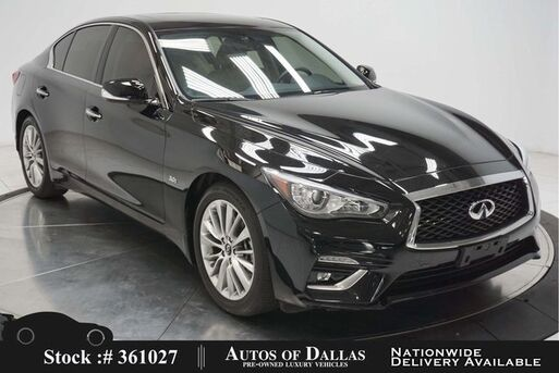 2018_INFINITI_Q50_3.0t LUXE NAV,CAM,SUNROOF,HTD STS,18IN WHLS_ Plano TX