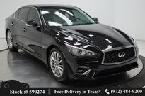 INFINITI Q50 3.0t LUXE NAV,CAM,SUNROOF,HTD STS,18IN WHLS 2018