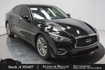 INFINITI Q50 3.0t LUXE NAV,CAM,SUNROOF,HTD STS,BLIND SPOT 2018