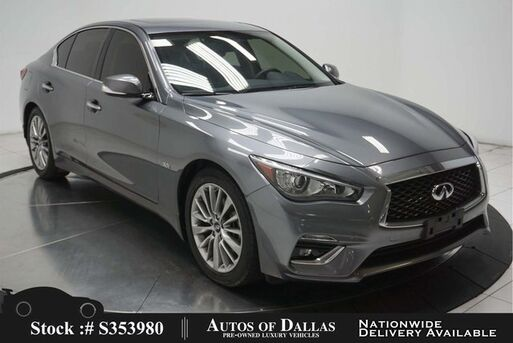 2018_INFINITI_Q50_3.0t LUXE NAV,CAM,SUNROOF,HTD STS,KEY-GO,17IN WLS_ Plano TX