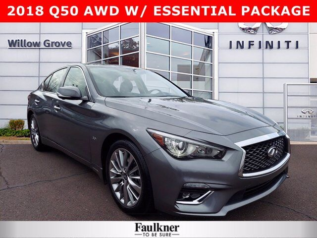 2018 INFINITI Q50 3.0t LUXE Willow Grove PA
