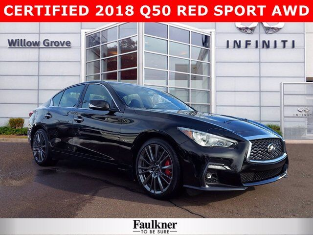 2018 INFINITI Q50 RED SPORT 400 Willow Grove PA