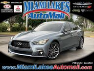 2018 INFINITI Q50 Red Sport 400 Miami Lakes FL