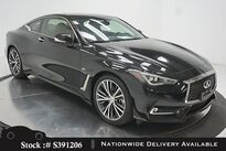 INFINITI Q60 3.0t LUXE CAM,SUROOF,KEY-GO,19IN WHLS 2018